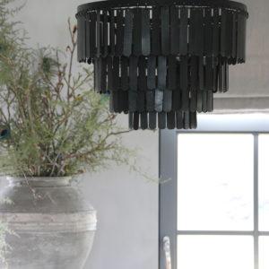 Landelijke metalen hanglamp