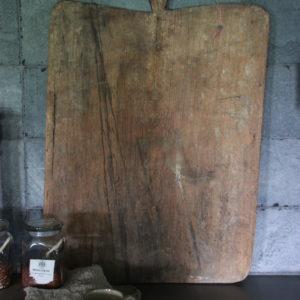 Oude, houten plank