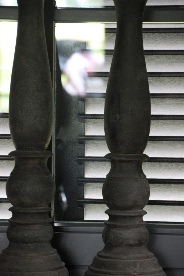 Vloerkandelaar hout