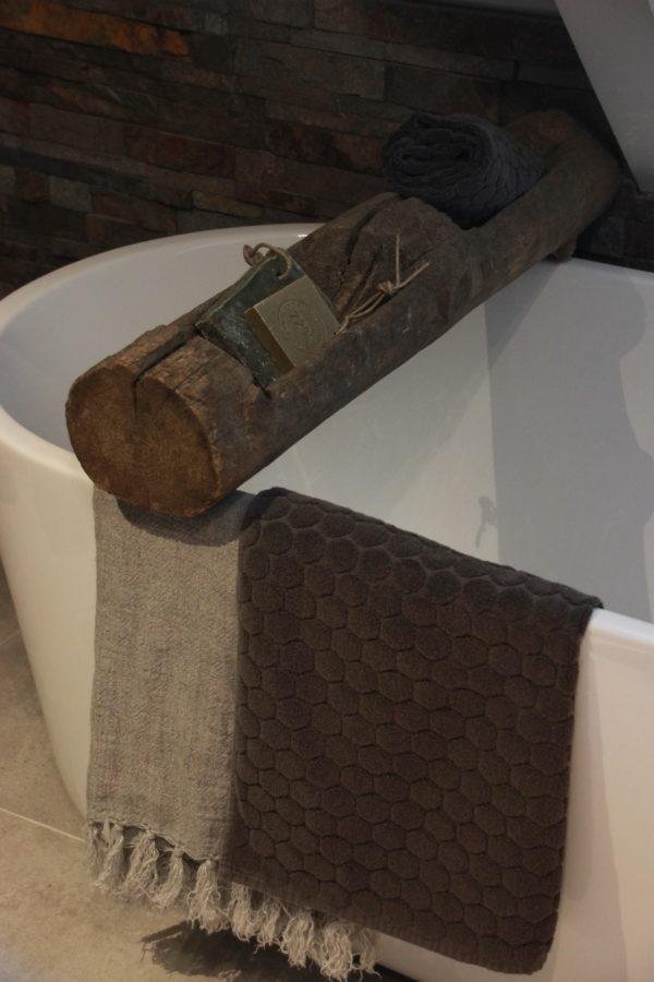 Lange houten bak / badplank