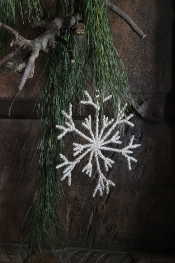 Kerstboomhanger sneeuwvlok