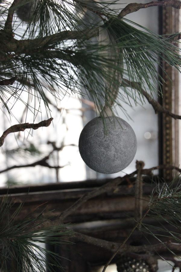 Kersthanger betonlook