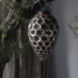 Kersthanger pegel goud