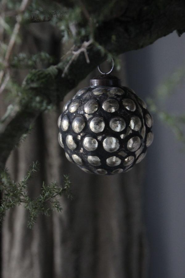 Kerstbal met gouden look