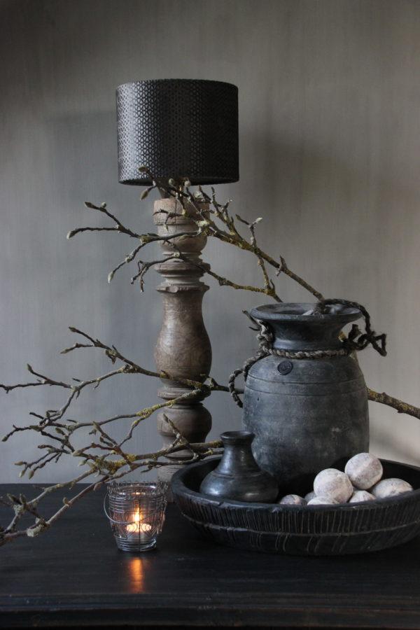 Wooden bowl carved Aura Peeperkorn