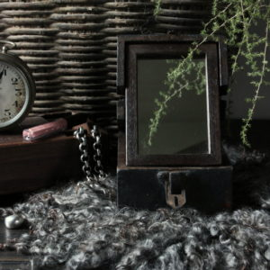 Wooden barberbox Aura Peeperkorn