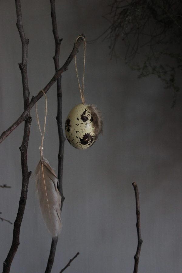 Paasei voor in paastak/boom