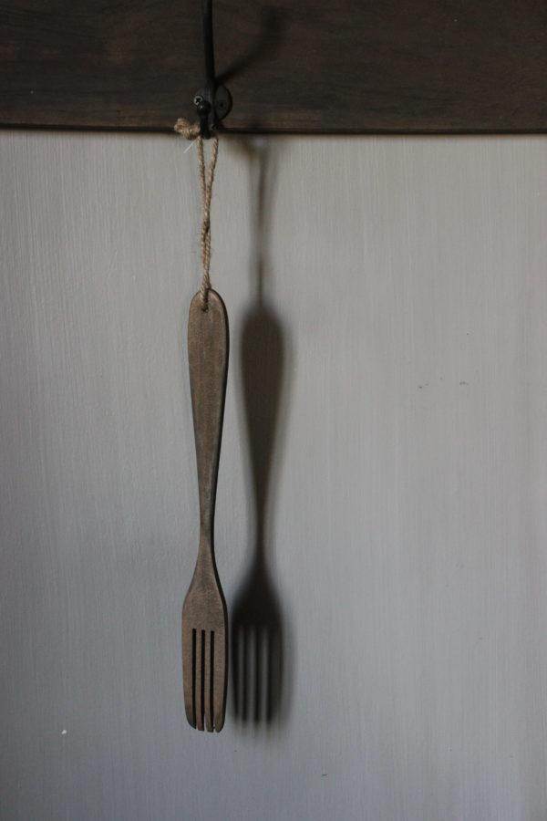 Houten vork