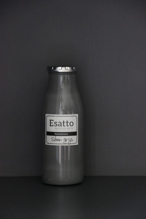 Wasvernis Steen grijs 500 ml