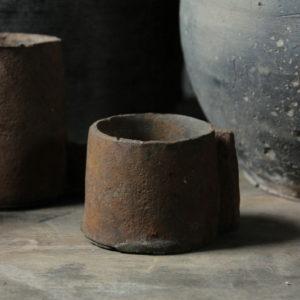 Iron candleholder Aura Peeperkorn