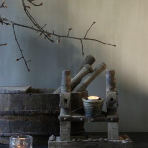 Spinning wheel ornament Aura Peeperkorn
