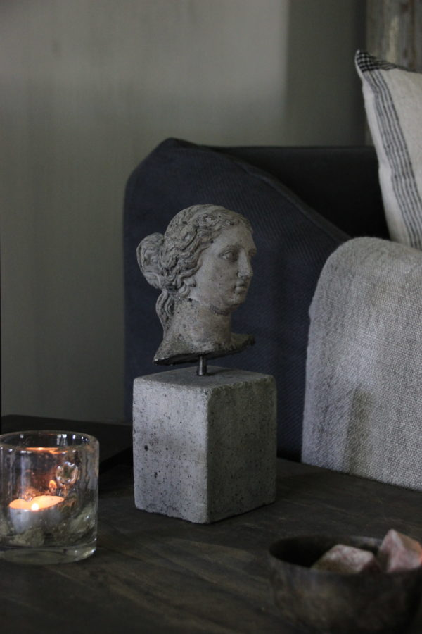 Beeld Venere op beton