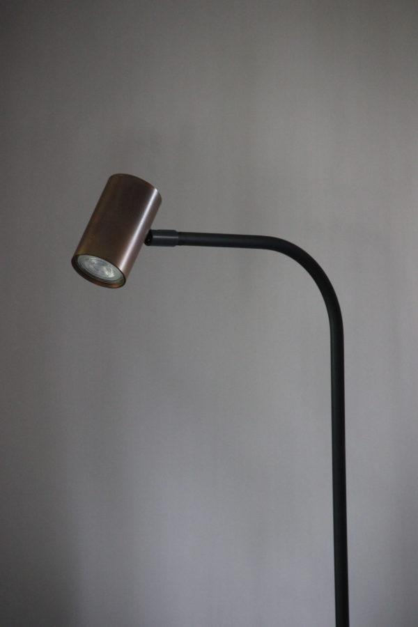 vloerlamp Tubino Koper Frezoli Lighting