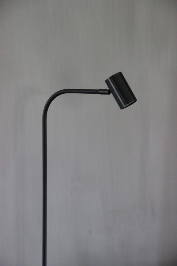 vloerlamp Tubino Mat zwart Frezoli Lighting