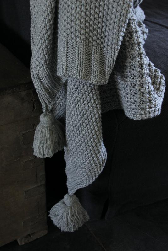 Plaid licht grijs katoen