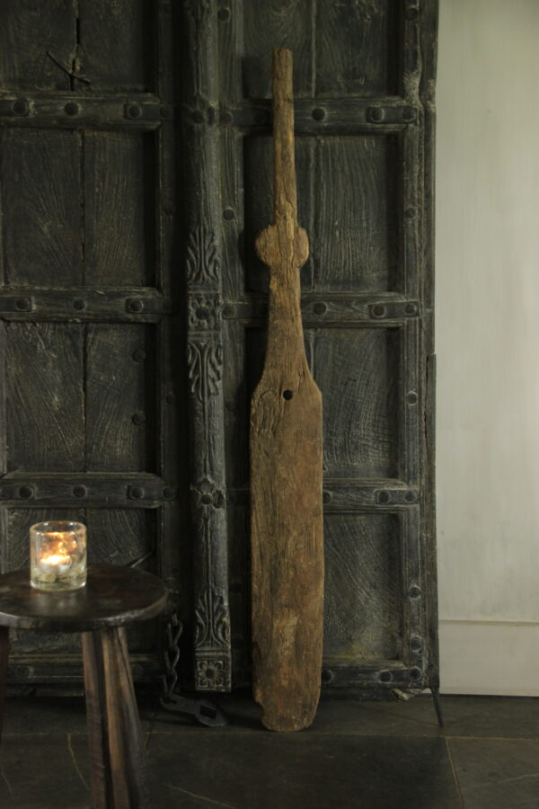 Oude houten lepel Aura Peeperkorn