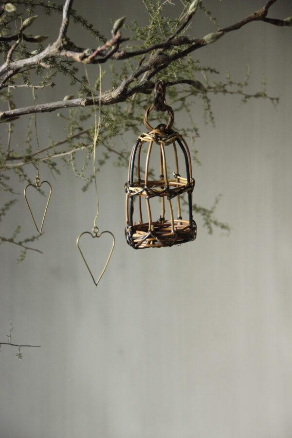 Gevlochten vogelkooi