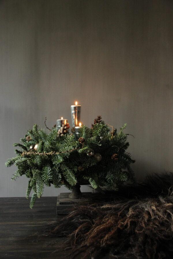 Tafel kerststuk online workshop