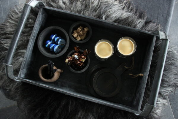 Wooden tray groot