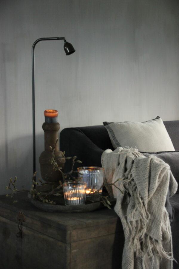 Vloerlamp Aura Peeperkorn boogmodel LED laag