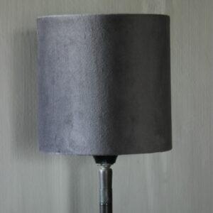 Lampenkap fluweel gris/t 151515 Aura Peeperkorn