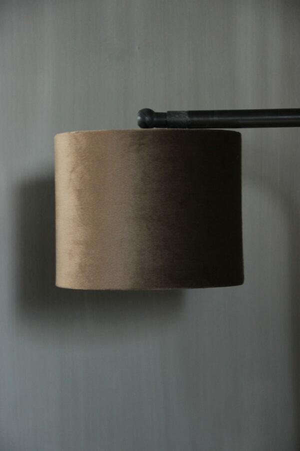 Lampenkap fluweel berber/t 151512 Aura Peeperkorn
