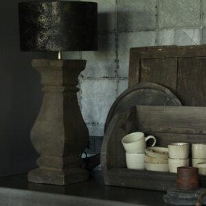 Houten lampvoet van Aura Peeperkorn