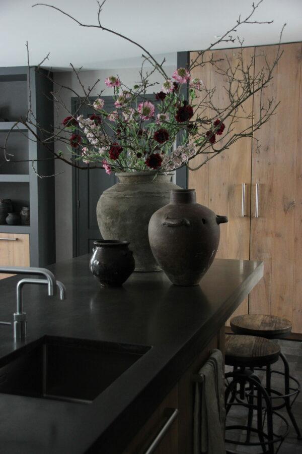 Spring flower roze 63 cm kunst