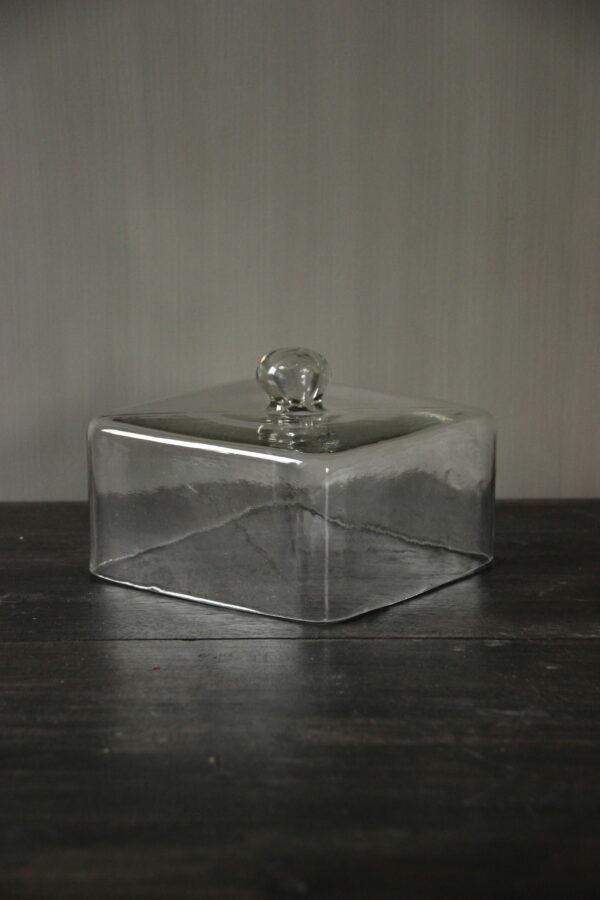 Glazen stolp vierkant