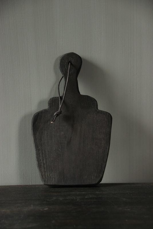 Onderzetter/amuseplank oud eikenhout M
