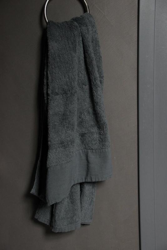 Handdoek Antibes Dark Grey 50 x 100 cm