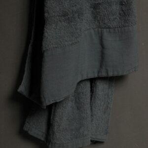 Badhanddoek Antibes Dark Grey 70 x 140 cm