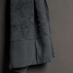 Gastendoek Antibes Dark Grey 30 x 50 cm