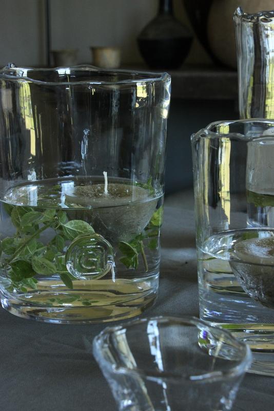 Drijfkaars olijfgroen