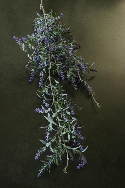Kunstbloem Lavendel paars 115 cm