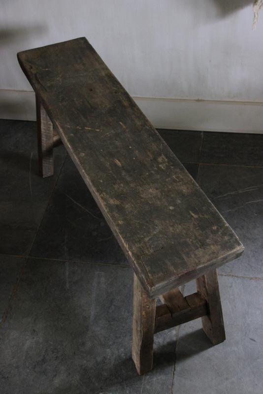 Houten bankje 101,5 cm