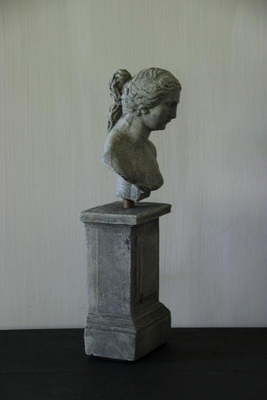 Beeld Venere op console