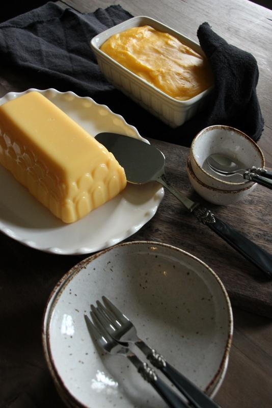 Cakevorm/pudding/broodvorm gebroken wit